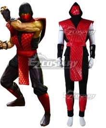 Mortal Kombat X ninja Red Cosplay Costume
