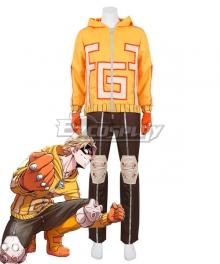My Hero Academia Boku No Hero Akademia Fat Gum Taishiro Toyomitsu Cosplay Costume
