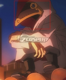 My Hero Academia Boku No Hero Academia  Hari Kurono Alter Chronostasis Mask Cosplay Accessory Prop