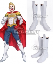 My Hero Academia Boku no Hero Academia Mirio Togata White Shoes Cosplay Boots