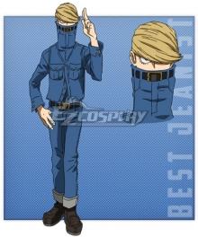 My Hero Academia Boku no Hero Academia Tsunagu Hakamata Cosplay Costume