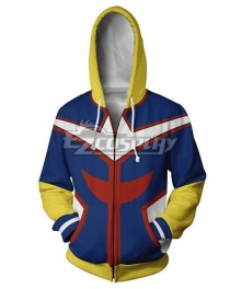 My Hero Academia Boku No Hero Akademia Allmight All Might Toshinori Yagi Coat Hoodie Cosplay Costume
