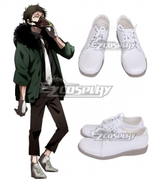 My Hero Academia Boku No Hero Akademia Anime Kai Chisaki Overhaul White Cosplay Shoes