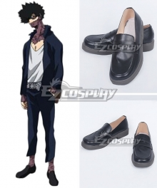 My Hero Academia Boku No Hero Akademia Dabi Black Cosplay Shoes