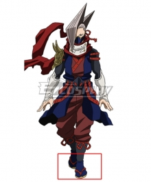 My Hero Academia Boku No Hero Akademia Edgeshot Shinya Kamihara Red Cosplay Shoes