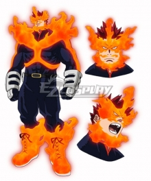 My Hero Academia Boku No Hero Akademia Endeavor Profile Cosplay Costume