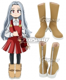 My Hero Academia Boku no Hero Akademia Eri Daily Brown Shoes Cosplay Boots