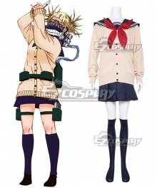 My Hero Academia Boku no Hero Akademia Himiko Toga Cosplay Costume