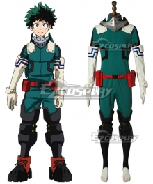 My Hero Academia Boku No Hero Akademia Izuku Midoriya Deku New Edition Gamma Suit 2.0 Cosplay Costume - A Edition