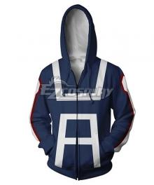 My Hero Academia Boku No Hero Akademia Izuku Midoriya Deku U.A. High School Coat Hoodie Cosplay Costume