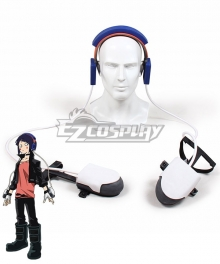 My Hero Academia Boku No Hero Akademia Kyouka Jirou Headset Gloves Accessories Cosplay Accessory Prop