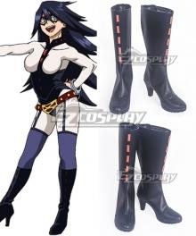 My Hero Academia Boku No Hero Akademia Midnight Black Shoes Cosplay Boots