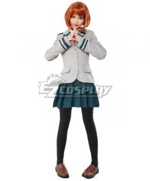 My Hero Academia Boku no Hero Akademia Ochako Uraraka Kyoka Jiro Tsuyu Asui School uniform Cosplay Costume