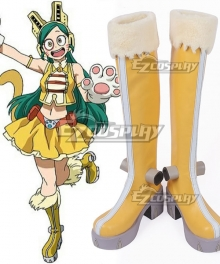 My Hero Academia Boku no Hero Akademia Pussy Cat Ragdoll Yellow Shoes Cosplay Boots