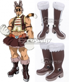 My Hero Academia Boku No Hero Akademia Pussy Cat Tora Brown Shoes Cosplay Boots