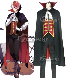 My Hero Academia Boku no Hero Akademia Shoto Todoroki Halloween Cosplay Costume