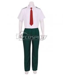 My Hero Academia Boku no Hero Akademia Shoto Todoroki Katsuki Bakugou Akademia Izuku Summer School Uniform Cosplay Costume