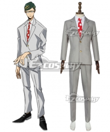 My Hero Academia Boku No Hero Akademia Mirai Sasaki Sir Nighteye Cosplay Costume