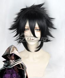 My Hero Academia Boku No Hero Akademia Tamaki Amajiki Black Cosplay Wig