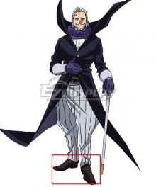 My Hero Academia Boku no Hero Akademia Danjuro Tobita Gentle Criminal Black Cosplay Shoes