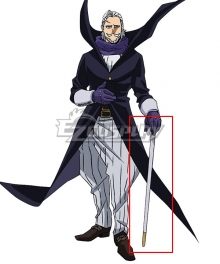 My Hero Academia Boku no Hero Akademia Danjuro Tobita Gentle Criminal Crutch Cosplay Accessory Prop