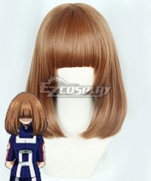 My Hero Academia Kinoko Komori Brown Cosplay Wig