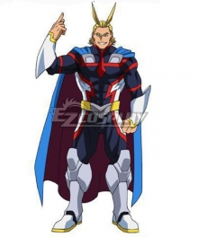 My Hero Academia: Two Heroes Boku No Hero Akademia Allmight All Might Toshinori Yagi Cosplay Costume