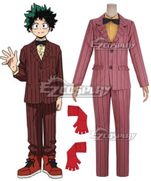My Hero Academia: Two Heroes Izuku Midoriya Deku Cosplay Costume