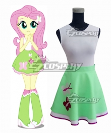My Little Pony Equestria Girls Fluttershy Cosplay Costume
