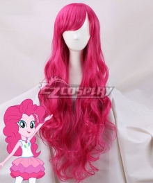 My Little Pony Equestria Girls Pinkie Pie Pink Cosplay Wig