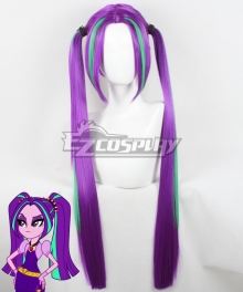 My Little Pony: Friendship Is Magic Aria Blaze Purple Cosplay Wig