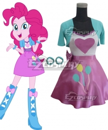 My Little Pony Equestria Girls Pinkie Pie Cosplay Costume