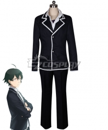 My Youth Romantic Comedy Is Wrong As I Expected Yahari Ore no Seishun Love Comedy wa Machigatteiru Hachiman Hikigaya Cosplay Costume