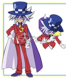 Mysterious Joker Kaitou Joker Cosplay Costume