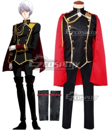 Cute High Earth Defense Club Love! Kinshiro Kusatsu Cosplay Costume with Cape