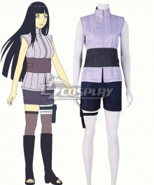 Naruto The movie The last-Hinata Hyuga Ninja Uniform Anime Cosplay Costume