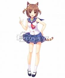 Nekopara Azuki Sailor Suit Cosplay Costume