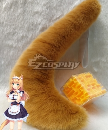 Nekopara Maple Minaduki Tail Cosplay Accessory Prop