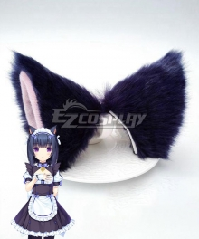 Nekopara Shigure Minaduki Purple Ears Cosplay Accessory Prop