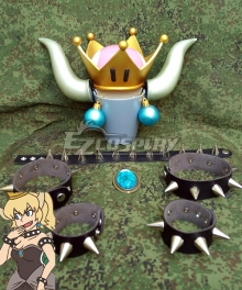 New Super Mario Bros. U Deluxe Princess Bowsette Costumes Accessories Cosplay Accessory Prop