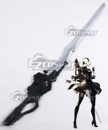 NieR: Automata 2B 9S YoRHa No.2 Type B YoRHa No.9 Type S Type-40 Sword Cosplay Weapon Prop