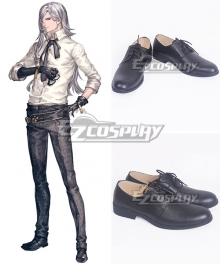 NieR: Automata 2B Commander Adam Black Cosplay Shoes
