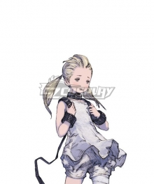 Nier Re[in]carnation Girl in White Grey Cosplay Wig