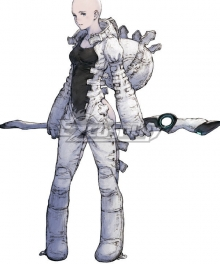 NieR Re[in]carnation Reincarnation Woman Clothed in White Cosplay Costume