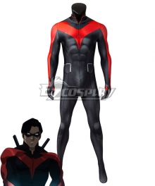 DC Teen Titans: The Judas Contract Nightwing Zentai Jumpsuit Cosplay Costume