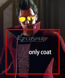 No More Heroes III Travis Touchdown Cosplay Costume - Only Coat