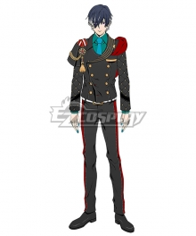 Obey Me! Belphegor RAD Uniform Cosplay Costume