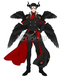 Obey Me! Lucifer Demon Cosplay Costume