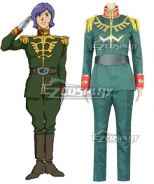 Mobile Suit Gundam: The Origin Garma Zabi Cosplay Costume