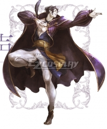 Octopath Traveler Conquerors Of The Continent Arguste Cosplay Costume